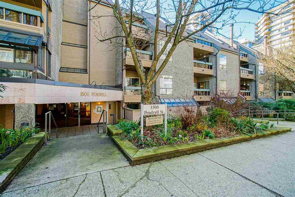 #402-1500 Pendrell Street, Vancouver, British Columbia  V6G 3A5 - Photo 1 - R2444863